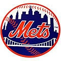 New York Mets 18-inch Wood Logo Plaque