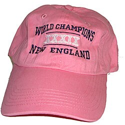 Women's New England Champions Pink Baseball Cap