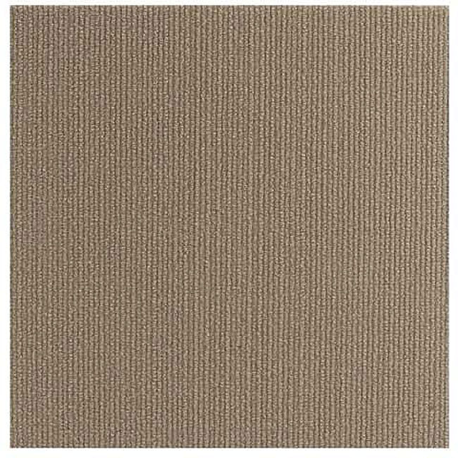Do it yourself beige self stick carpet tiles 144 square for Do it yourself flooring