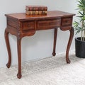 International Caravan Carved Wood Vanity