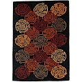 Hand-tufted Nouri Wool Rug (5' x 8')