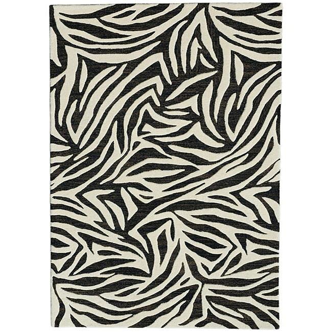 Hand-Tufted Wool Area Rug (8' x 10'6)