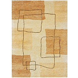 Hand-tufted Hand-twist Wool Rug (8' x 10'6)