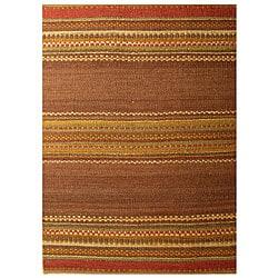 Hand-woven Jute Rug (4' x 6')