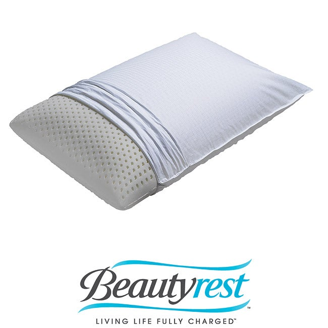 Beautyrest Extra-firm Supportive 100-percent Latex Bed Pillow at Sears.com