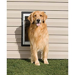PetSafe Large Aluminum Wall Entry Pet Door