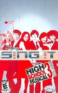 PS2 - Disney Sing It: High School Musical 3 Senior Year - By Disney Interactive