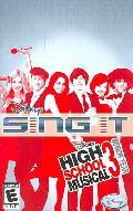 PS2 - Disney Sing It: High School Musical 3 Senior Year - By Disney Interactive