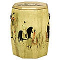 Golden Drum Stool (China)