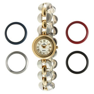 Peugeot Women's Two-tone Watch Gift Set