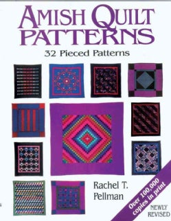 Amish Quilt Patterns (Paperback)