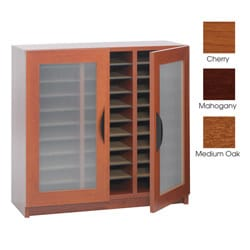 Safco 30-slot Literature Organizer with Doors