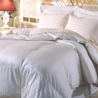 Hotel Grand Silk  400 Thread Count Premium White Goose Down Comforter
