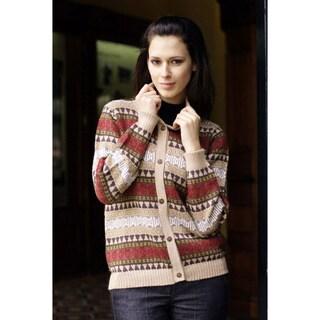 Alpaca Wool 'Earth Honor' Sweater (Peru)