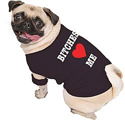 'Bitches Love Me' Dog Tank Top