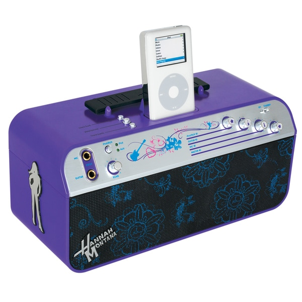 Disney Hannah Montana iPod Amplifier Boombox