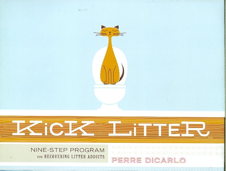 Kick Litter: Nine-Step Program for Recovering Litter Addicts (Paperback)