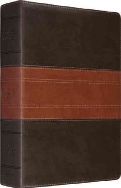 Holy Bible: English Standard Version, Trutone, forest/tan, Trail Design (Paperback)
