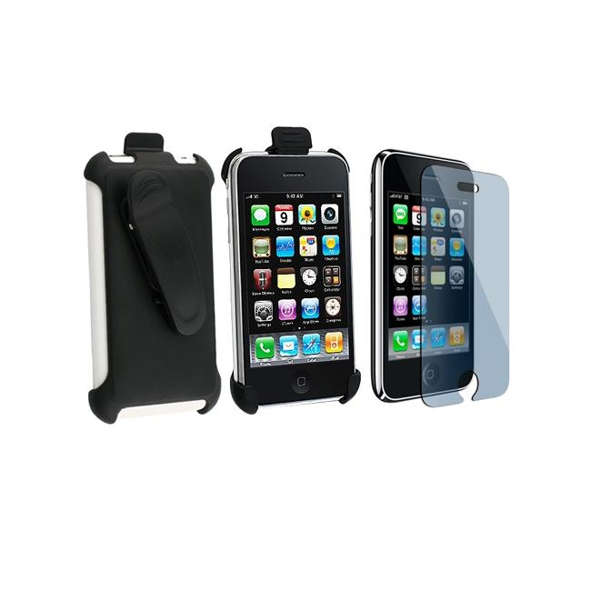 Holster and Screen Protector for Apple iPhone