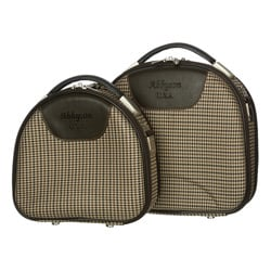 Bedford Women's 2-piece Biege Travel Case Set