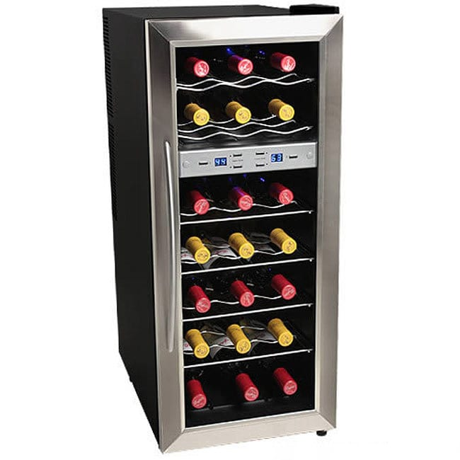 EdgeStar 21-bottle Stainless Steel Wine Cooler