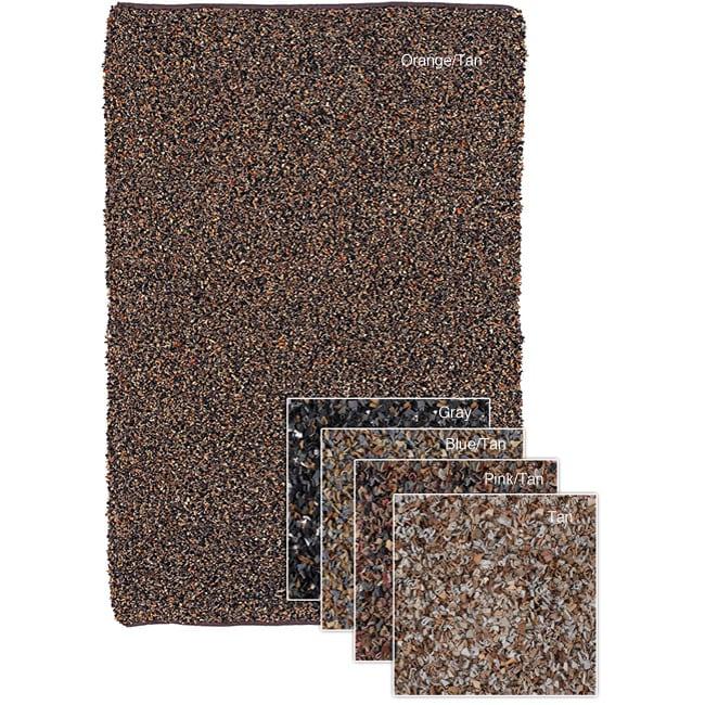 Mandara Leather Rug (3'6 x 5'6)