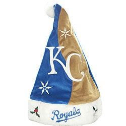 Kansas City Royals Santa Hat