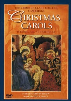 CHRISTMAS CAROLS - CHOIR OF CLARE COLLEGE CAMBRID