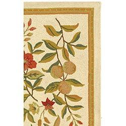 Safavieh Hand-hooked Garden Ivory Wool Rug (2'9 x 4'9)