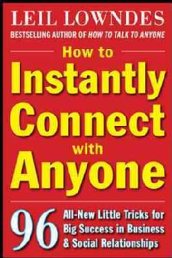 How to Instantly Connect With Anyone (Paperback)