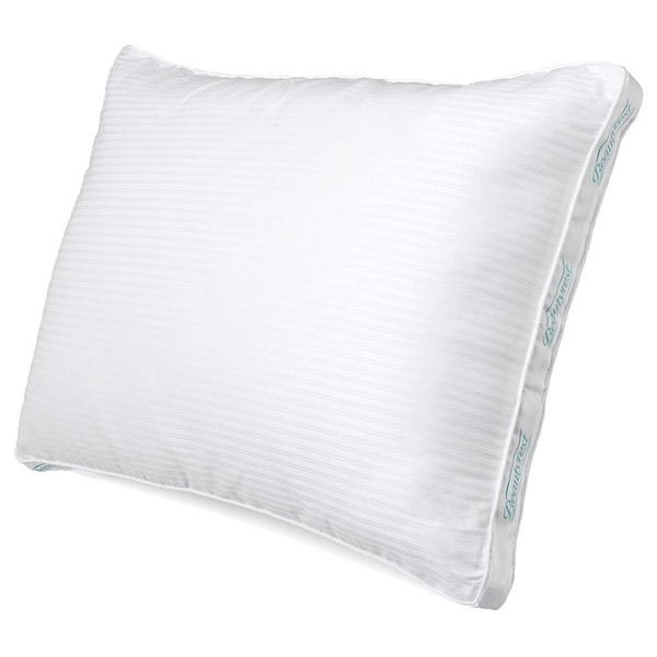 Beautyrest Pima Cotton 300 Thread Count Firm Support Pillow (Set of 2) (As Is Item)