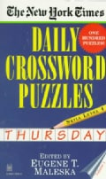 The New York Times Daily Crossword Puzzles: Thursday : Level 4 (Paperback)