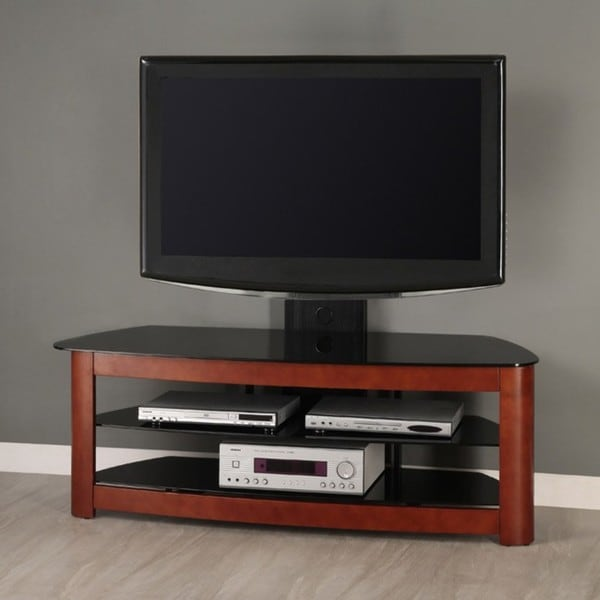 60 in. Corner TV Stand with Removable Mount