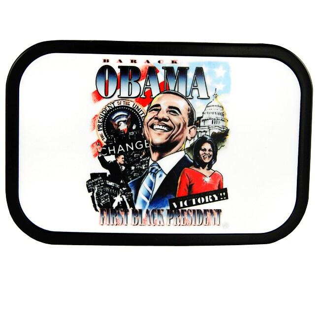 Iced Out Gear Men's President Barack Obama Belt