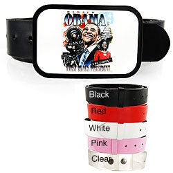 Iced Out Gear Men's President Barack Obama Belt