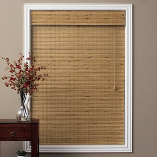 Tuscan Bamboo 54-inch Long Roman Shade