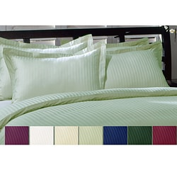 Royal Damask Striped Pillow Shams (Pack of 4)