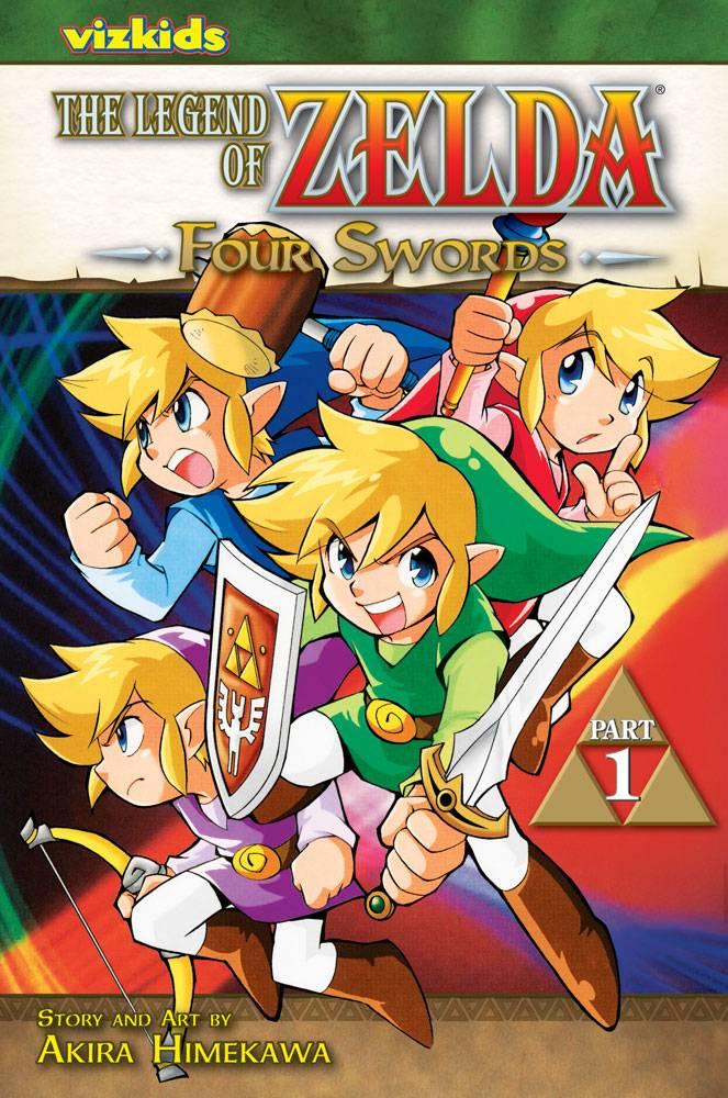 The Legend of Zelda 6: Four Swords (Paperback)