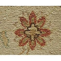 Hand-woven Regency-5 Flat-weave Wool Rug (4' x 6')