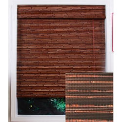 Rangoon Bamboo Roman Shade (28 in. x 74 in.)