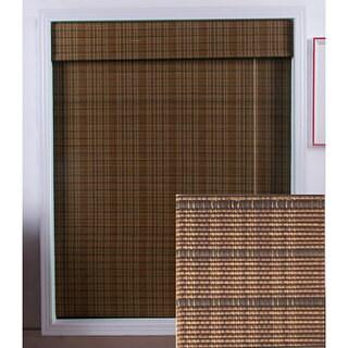 Tibetan Bamboo 98-inch Long Roman Shade