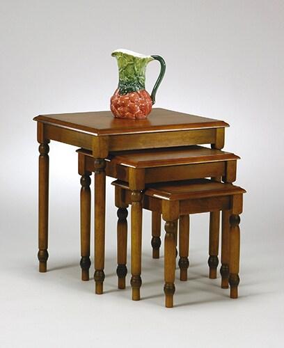 Office Star Knob Hill 3-piece Nesting Table Set
