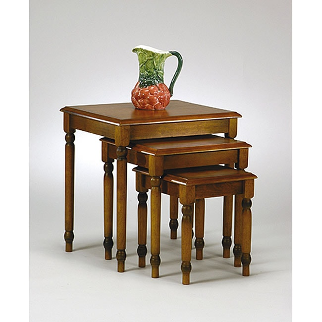Office Star Knob Hill 3 Piece Nesting Table Set 11773040 Shopping Great