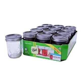 Ball Half-pint/ 8-ounce Mason Jars (Set of 12)