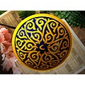 Sunswirl Extra Large Ceramic Bowl (Morocco)