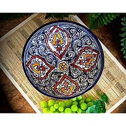 Casablanca Extra Large Ceramic Bowl (Morocco)