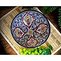 Casablanca Extra Large Ceramic Bowl (Morocco)