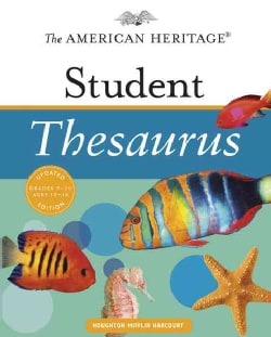 The American Heritage Student Thesaurus (Hardcover)