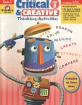 Critical & Creative Thinking Activities, Grade 2 (Paperback)