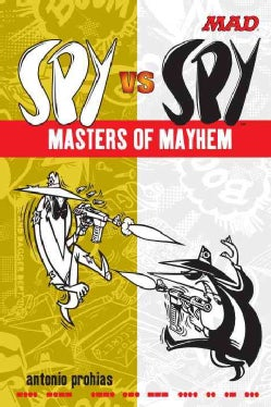 Mad Spy Vs Spy Masters of Mayhem (Paperback)